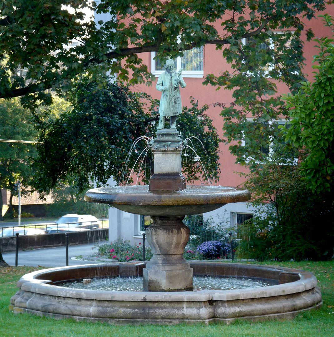 Burgschmietbrunnen Gesamtansicht