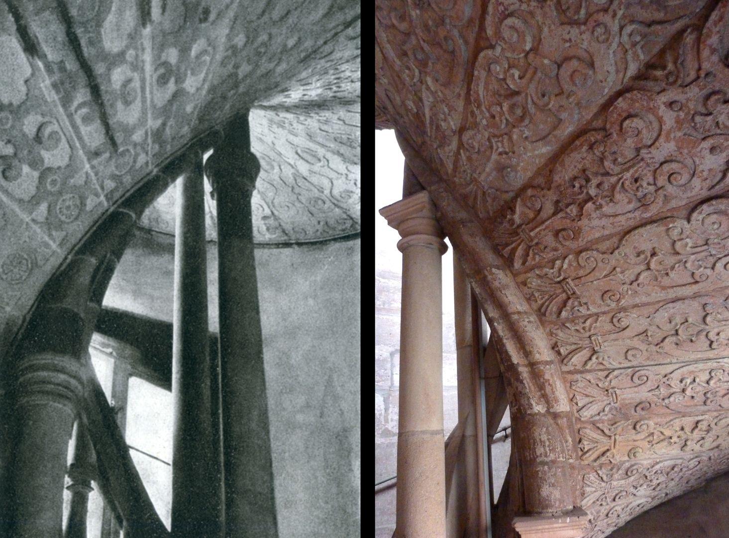 Treppen<p>1602 - 1605<br></p><p></p><p></p><p>__________________________________<br></p><p>foto links: Straßburg, Dr. Karl Busch, 1942</p><p> <br></p>